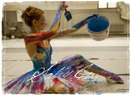 Color2PaintBallerina